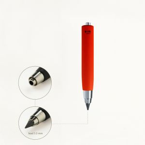 clutch pencil workman - red