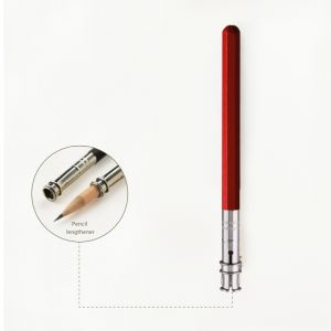 pencil extension peanpole - red