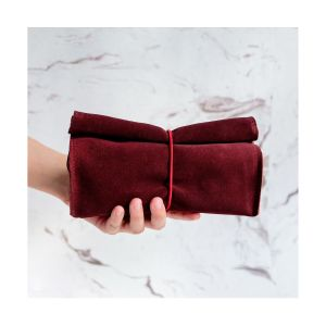 ROLL red velvet pocket M